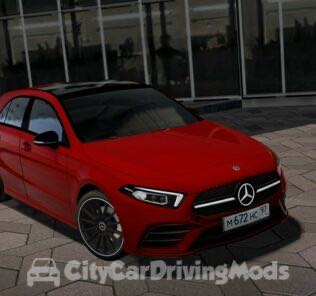 Mercedes-Benz A-Class 2018 Mod for City Car Driving v.1.5.7
