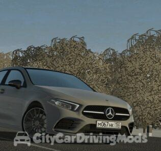 Mercedes-Benz A-Class 2018 Mod for City Car Driving v.1.5.8