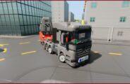 Mercedes-Benz Arocs + Selbsfahrer + Amored Train Mod for Brick Rigs
