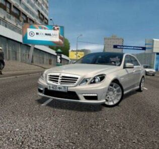Mercedes-Benz E63 AMG W212 Mod for City Car Driving v.1.5.9