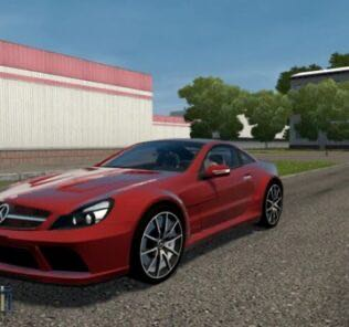Mercedes-Benz SL65 AMG V12 BiTurbo Mod for City Car Driving v.1.5.8