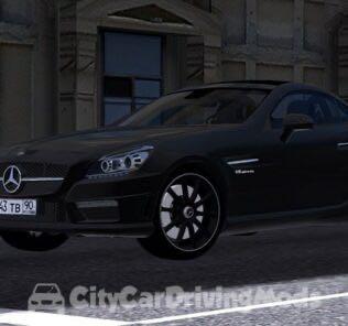 Mercedes-Benz SLK55 Mod for City Car Driving v.1.5.5