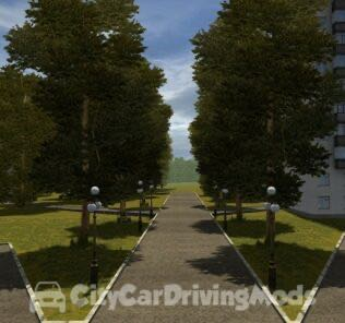 New Textures Mod Mod for City Car Driving v.1.5.6