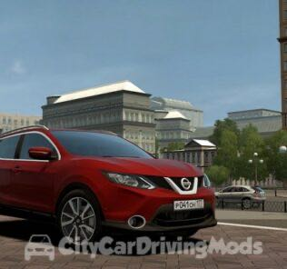 Nissan Qashqai 2016 Mod for City Car Driving v.1.5.8