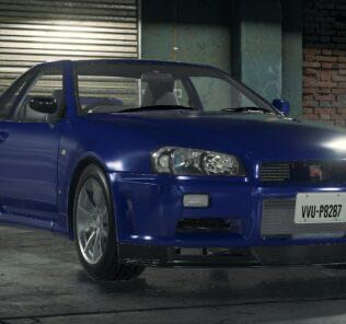 Nissan Skyline GT-R (R34) Mod for Car Mechanic Simulator 2018