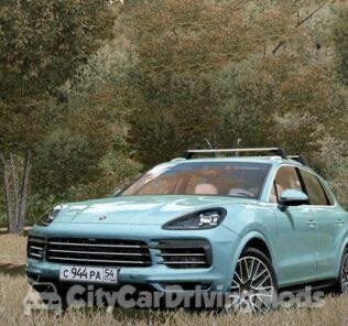Porsche Cayenne S 2018 Mod for City Car Driving v.1.5.7