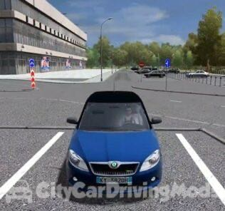 Skoda Fabia RS 2010 Hatchback Mod for City Car Driving v.1.5.6