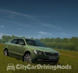 Skoda Superb (My First Ever Own Mod) Mod for City Car Driving v.1.5.6