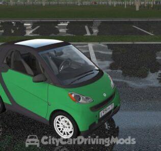 Smart Fortwo Mod for City Car Driving v.1.5.5