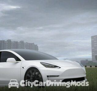 Tesla Model 3 2018 Mod for City Car Driving v.1.5.8