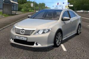 Toyota Camry V50 3.5L 2015 Mod for City Car Driving v.1.5.9