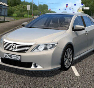 Toyota Camry V50 3.5L 2015 Mod for City Car Driving v.1.5.9