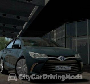 Toyota Camry XLE 2017 Mod for City Car Driving v.1.5.6