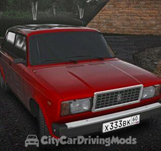 Vaz (ВАЗ) 2107 Mod for City Car Driving v.1.5.5
