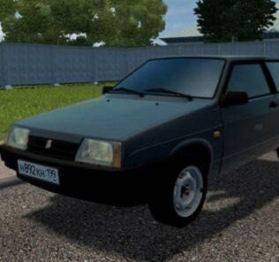 Vaz 2108 Mod for City Car Driving v.1.5.9