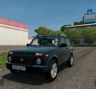 Vaz 21214 Niva (Urban) Mod for City Car Driving v.1.5.8