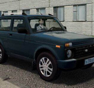 Vaz 21214 Niva (Urban) Mod for City Car Driving v.1.5.9