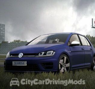 Volkswagen Golf R 2014 Mod for City Car Driving v.1.5.5
