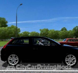 Volvo C30 Mod for City Car Driving v.1.5.6
