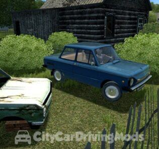 Zaz 968M Mod for City Car Driving v.1.5.7
