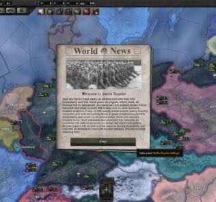 Battle Royale Mod for Hearts of Iron IV