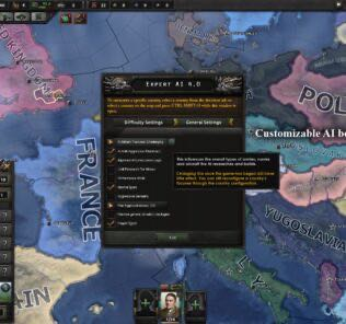Expert AI 4.0 Mod for Hearts of Iron IV