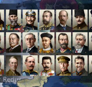 Hearts of Iron IV: The Great War Redux [Beta] Mod for Hearts of Iron IV