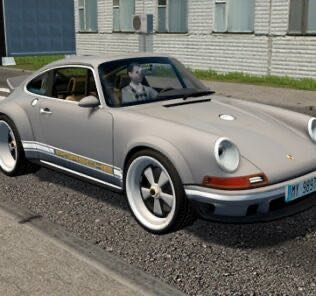 1990 Porsche 911 Singer DLS Mod for City Car Driving v.1.5.9
