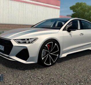 Audi RS 7 Sportback 2019 Mod for City Car Driving v.1.5.9