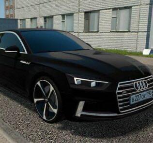 Audi S5 2017 Mod for City Car Driving v.1.5.9