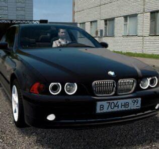 BMW 520I E39 Mod for City Car Driving v.1.5.9