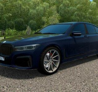 BMW 750i M-Sport (G11) 2019 Mod for City Car Driving v.1.5.9