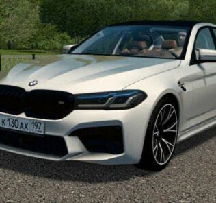 BMW M5 F90 Competition 2020 Mod for City Car Driving v.1.5.9