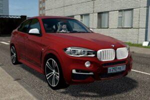 BMW X6 M50d Mod for City Car Driving v.1.5.9