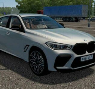 BMW X6M Competition F96 2020 Mod for City Car Driving v.1.5.9