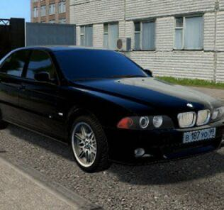Bmw М5 Е39 Mod for City Car Driving v.1.5.9