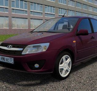 Lada Granta Liftback 1.6 MT Mod for City Car Driving v.1.5.9