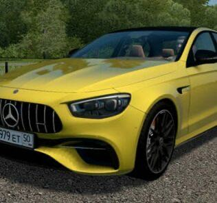 Mercedes-Benz E63S 4Matic + 2020 Mod for City Car Driving v.1.5.9