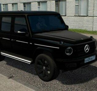 Mercedes-Benz G500 2019 Black Edition Mod for City Car Driving v.1.5.9