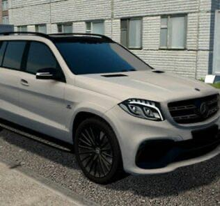 Mercedes-Benz GLS Black Edition Mod for City Car Driving v.1.5.9