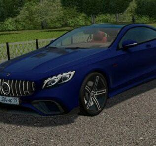 Mercedes-Benz S63 AMG Coupe Brabus Mod for City Car Driving v.1.5.9