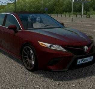 Toyota Camry 3.5 (XV70) Mod for City Car Driving v.1.5.9