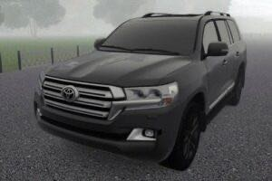 Toyota Land Cruiser 200 4.6 2016 Mod for City Car Driving v.1.5.9