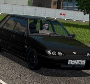 Vaz 2115 Tuning Mod for City Car Driving v.1.5.9