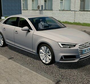 2017 Audi A4 (B9) 2.0 TSFI Quattro Mod for City Car Driving v.1.5.9