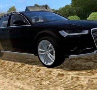 Audi A6 Allroad 2015 Mod for City Car Driving v.1.5.9