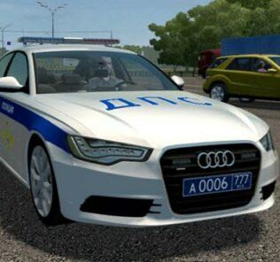 Audi A6 (C7) Police Mod for City Car Driving v.1.5.9
