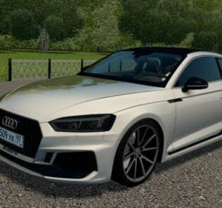 Audi RS5 Coupe 2017 Mod for City Car Driving v.1.5.9