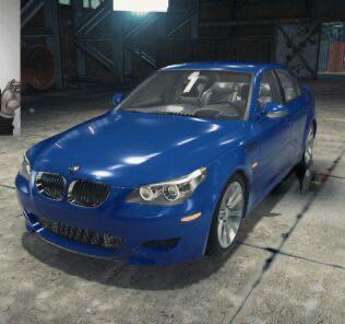 BMW M5 E60 Mod for Car Mechanic Simulator 2018