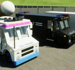 Chevrolet P30 SWAT Truck Mod for Brick Rigs